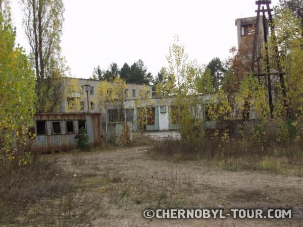 Пожарная станция в Припяти