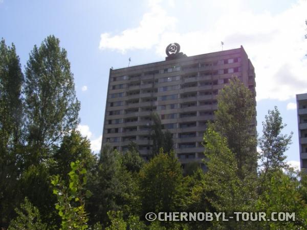 16-ти этажный дом в Припяти