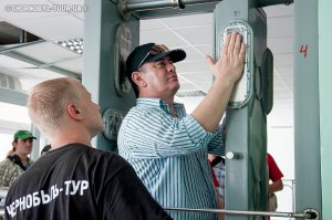Дозиметричний контроль в Чорнобильській зоні